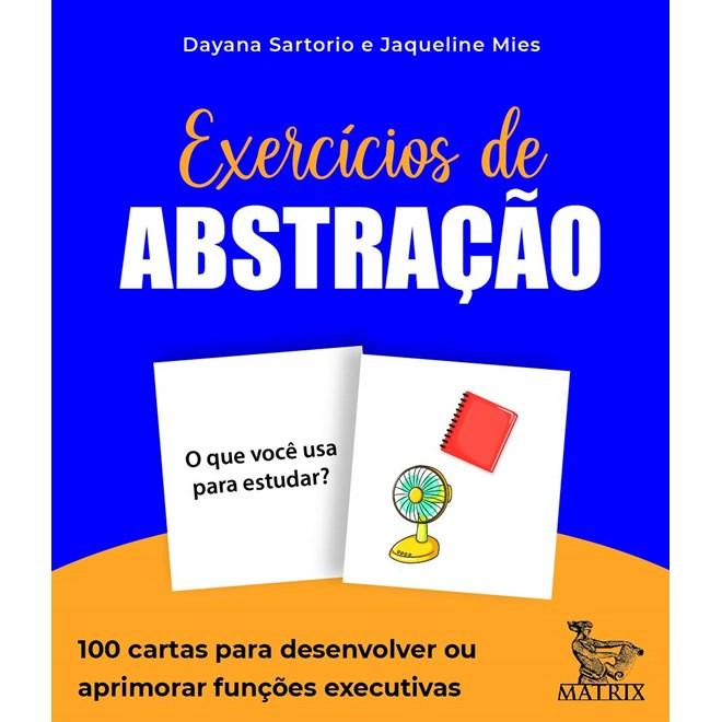 Livro Caixinha Exercícios de abstração - Sartorio - Matrix
