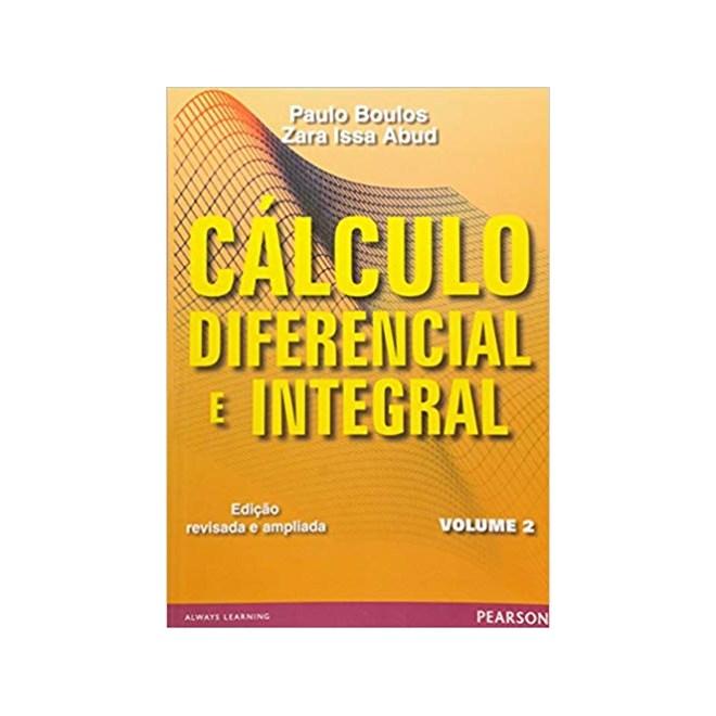 Livro - Cálculo diferencial e integral: Volume 2 - Boulos