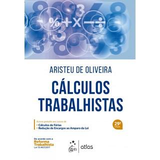 Livro - Cálculos Trabalhistas - Oliveira
