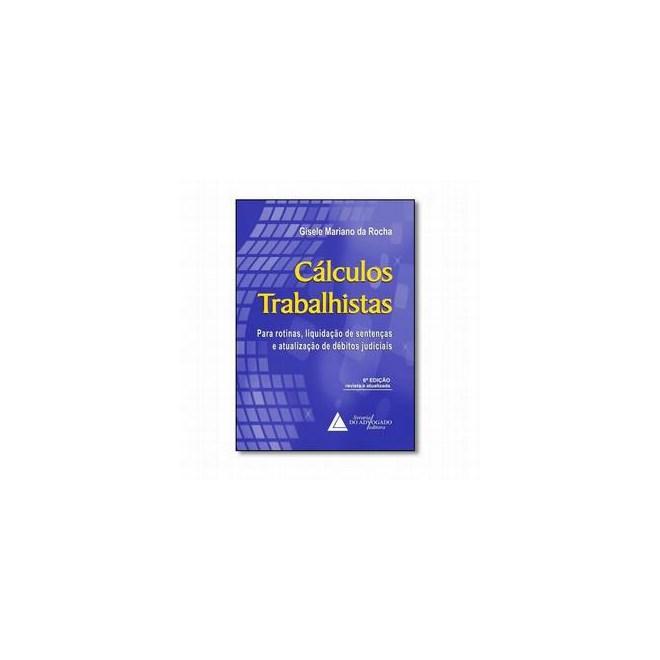 Livro - Cálculos Trabalhistas - Rocha