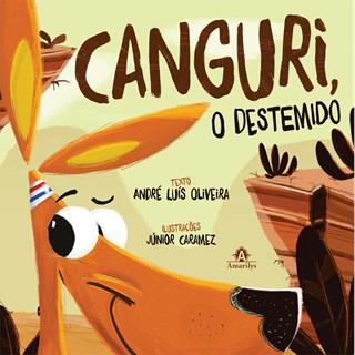 Livro - Canguri, O Destemido - Oliveira