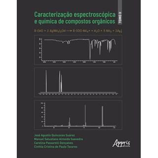 Livro Caracterização Espectroscópia e Química de Compostos Orgânicos - Appris