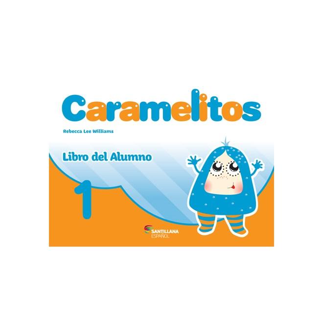 Livro Caramelitos 1 - Salvador - Santillana