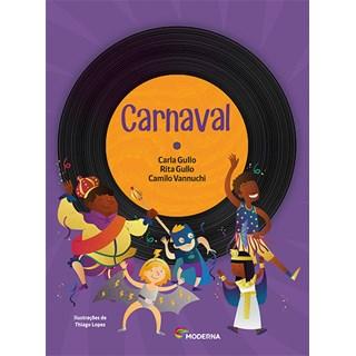 Livro- Carnaval - Gullo - Moderna