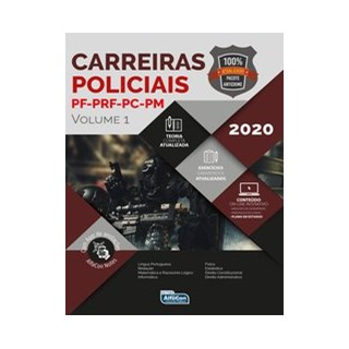Livro - Carreiras Policiais 2020 - Equipe Alfacon 3º edição
