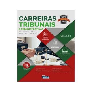 Livro - Carreiras Tribunais e Administrativas 2020 - Equipe Alfacon 1º edição
