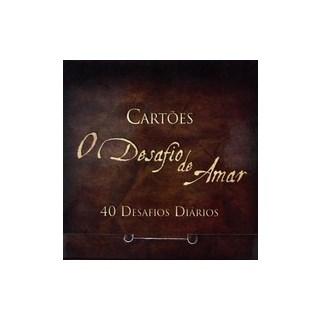 Livro - Cartões - O Desafio de Amar - 40 Desafios Diários - BV Books