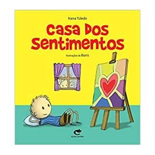 Livro Casa dos Sentimentos, A - Toledo - Gato Leitor