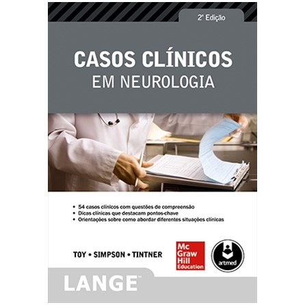 Livro - Casos Clínicos em Neurologia - Toy