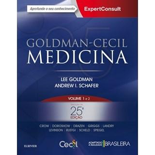 Livro Cecil Tratado de Medicina Interna 2 volumes - 25ª edição