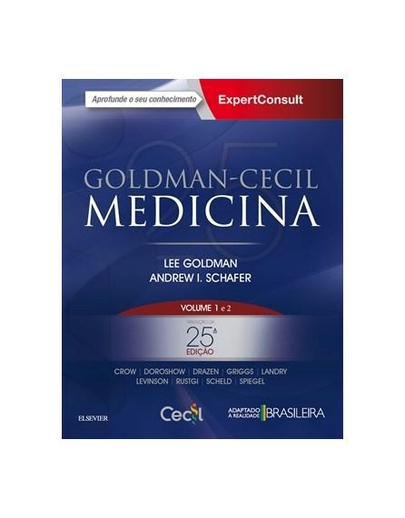Livro Cecil Tratado de Medicina Interna 2 volumes - Pré-venda 25ª edição