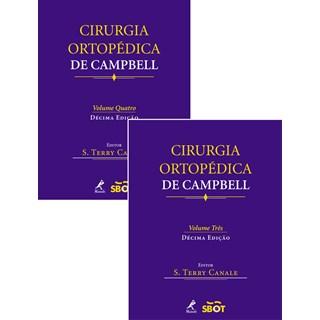 Livro - Cirurgia Ortopédica de Campbell - Canale - Vols 3 e 4