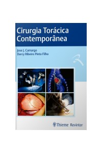 Livro Cirurgia Toracica Contemporanea Camargo