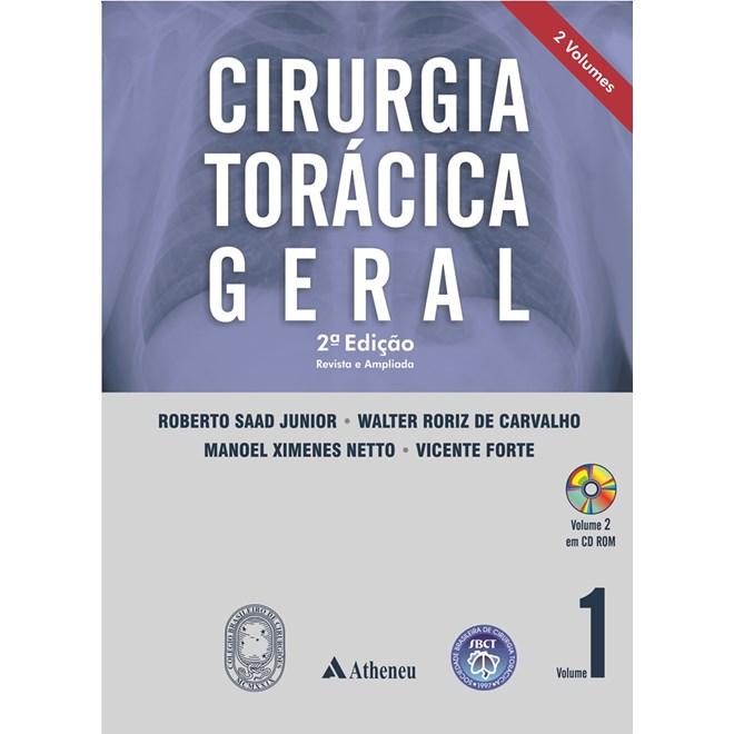 Livro - Cirurgia Torácica Geral - 2a. edição - Saad