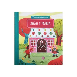 Livro - Clássicos animados – JOÃO E MARIA - Medeiros 1º edição