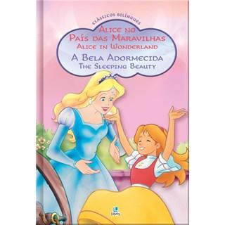 Livro - Classicos Bilingues - Alice No Pais Das Maravilhas E A Bela Adormecida - Maharg