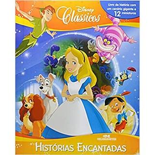 Livro - Clássicos Disney: Histórias Encantadas -Inclui Miniaturas