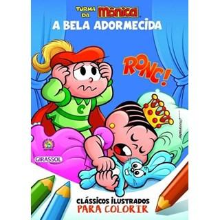Livro - Clássicos Ilustrados Para Colorir - A Bela Adormecida - Girassol