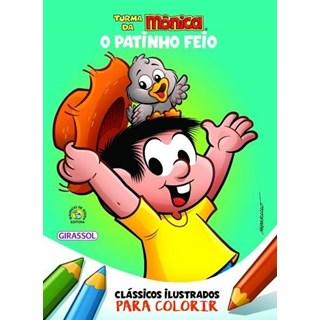 Livro - Clássicos Ilustrados Para Colorir - O Patinho Feio - Girassol
