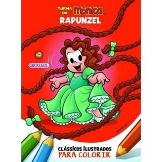 Livro - Clássicos Ilustrados para Colorir - Rapunzel - Girassol