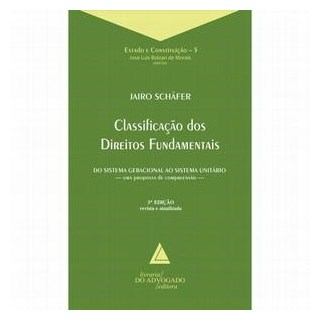 Livro - Classificação dos Direitos Fundamentais - Schafer
