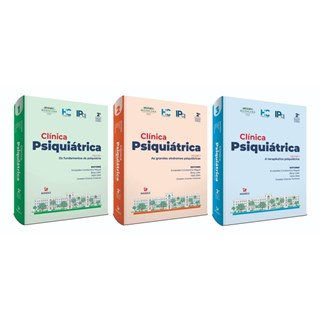 Livro - Clínica Psiquiátrica 3 vol - FMUSP Forlenza - Manole