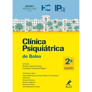 Livro - Clínica Psiquiátrica de Bolso - Forlenza 2ª edição