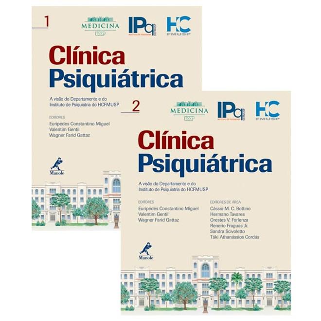 Livro - Clínica Psiquiátrica - FMUSP - Miguel