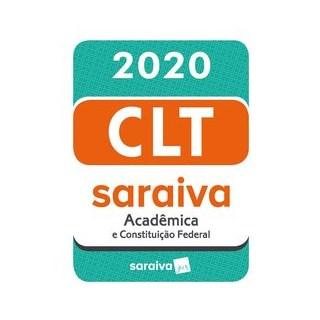 Livro - CLT Acadêmica e Constituição Federal - 20ª edição - 2020 - SARAIVA SA LIVREIROS EDITORES 20º