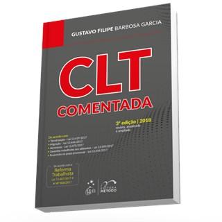 Livro - CLT Comentada - Garcia