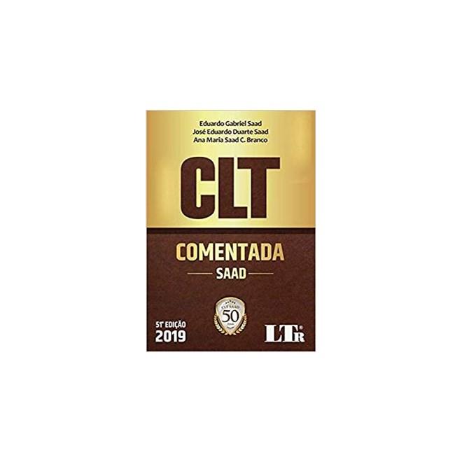 Livro - CLT Comentada - Saad