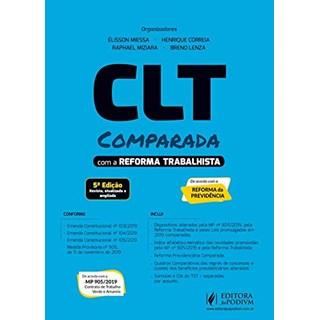 Livro Clt Comparada com a Reforma Trabalhista - Correia - Juspodivm