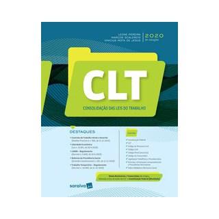 Livro - CLT - Consolidação das Leis do Trabalho - Pereira 2º edição