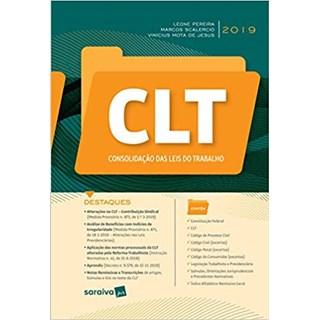 Livro - CLT - Consolidação das Leis do Trabalho -  Silva Junior