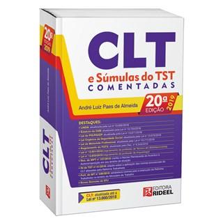 Livro -CLT E Sumulas Do TST Comentadas - 20 ed - ALMEIDA