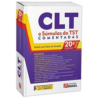 Livro - CLT e Súmulas do TST Comentadas - Almeida