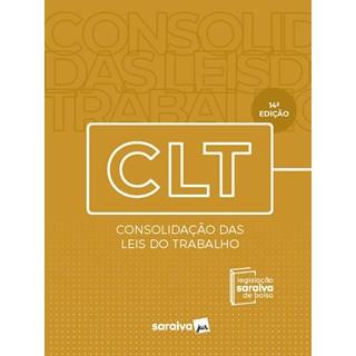 Livro - CLT - Legislação Saraiva de Bolso - 13ª edição - 2020 - Editora Saraiva 13º edição