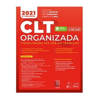 Livro - CLT Organizada - Consolidação das Leis do Trabalho - Cassar - Método