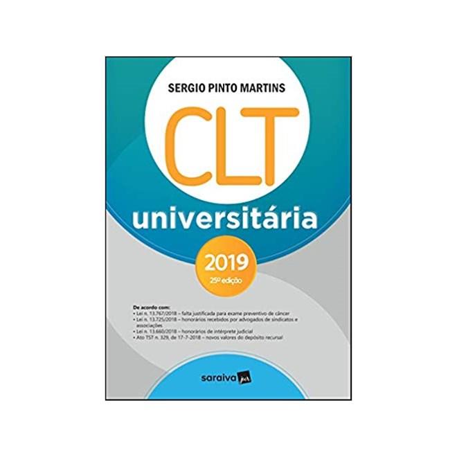 Livro - Clt Universitária - Saraiva