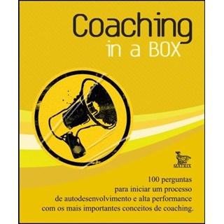 Livro - Coaching In a Box - Lippi - Baralho