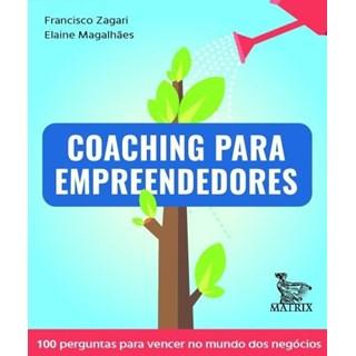 Livro - Coaching Para Empreendedores - Zagari - Baralho