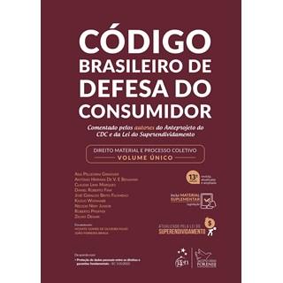 Livro - Código Brasileiro de Defesa do Consumidor-Comentado pelos Autores do Anteprojeto - Pellegrini