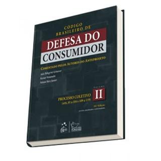 Livro - Código Brasileiro de Defesa do Consumidor Vol. II - Grinover