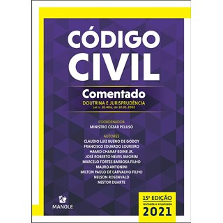 Livro - Código Civil Comentado - Doutrina e Jurisprudência - Peluso - Manole