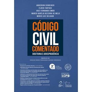 Livro Código Civil Comentado - Schreiber - Forense - Pré-Venda