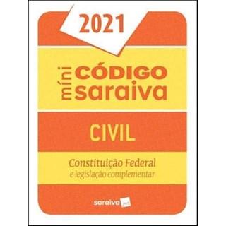 Livro Código Civil Mini 27ª Edição - Saraiva