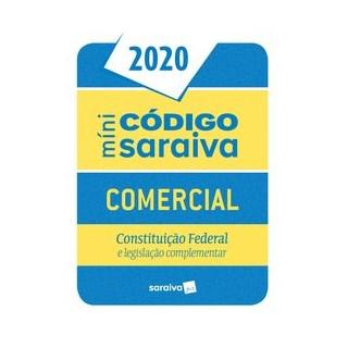 Livro - Código Comercial Mini - 26ª edição de 2020 - Editora Saraiva 26º edição