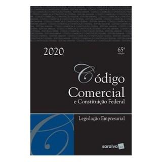 Livro - Código Comercial Tradicional - 65ª edição de 2020 - Editora Saraiva 65º edição