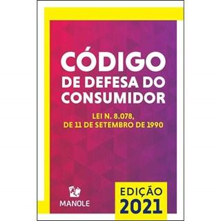 Livro Código de Defesa do Consumidor 2021 - Manole