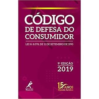 Livro - Código de Defesa do Consumidor - 9ª Edição